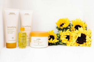 evolution Salon Aveda products