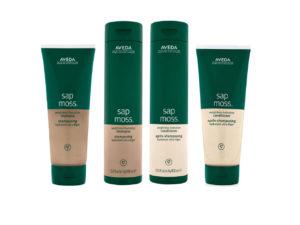 Evolution Salon Aveda sap moss products